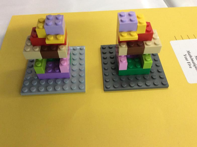 Great speaking and listening took place in Lego group this week.
