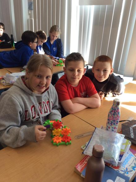 In Science this week, Sapphire explored gears to find out how they work.