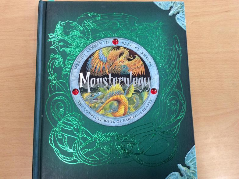 Our new class book in English... 'Monsterology'!