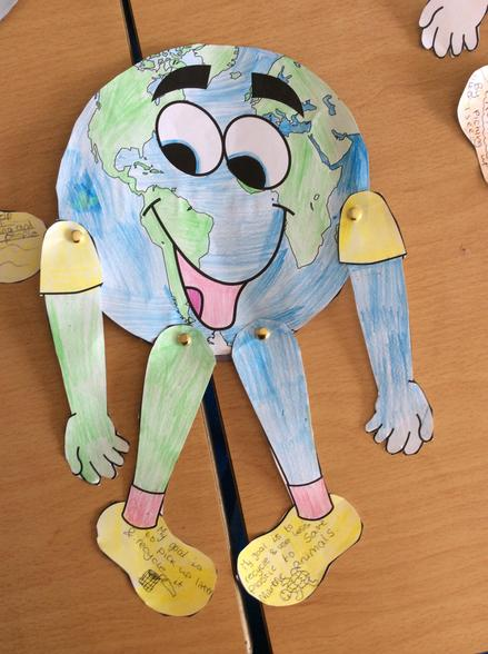Our Earth day mascot