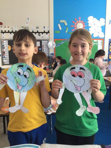 Our mascots will remind us of our responsibilities to look after our earth