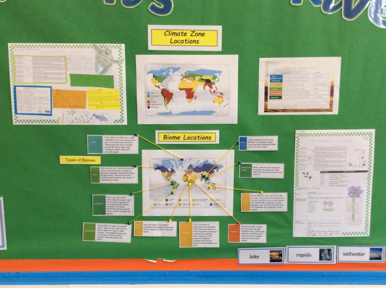 Great learning taking place in Geography