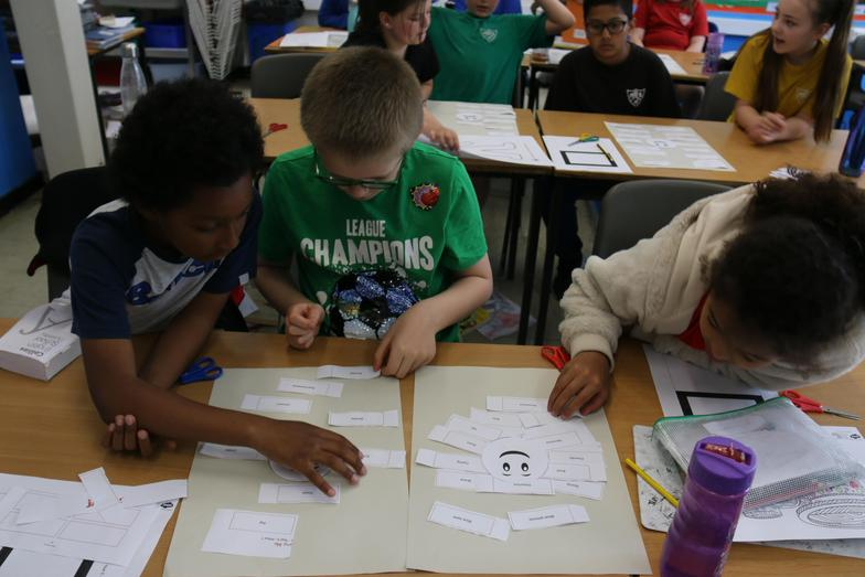 We thought about how we perceive ourselves compared to how other see us.