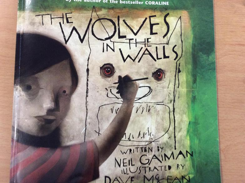 In English, we planned and wrote our sequel to the story, The Wolves in the Walls...