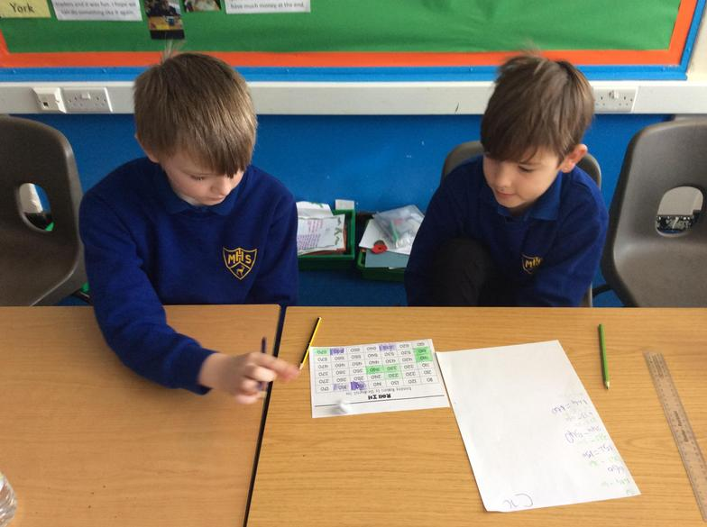 We started off Feel Good Friday by playing some maths games.