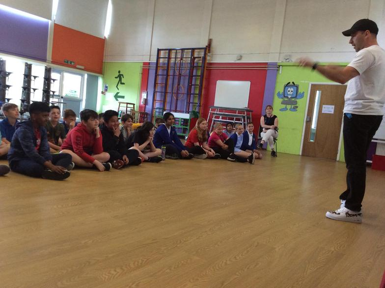 We heard some really positive, inspiring stories from the founder of Urban Street Dance.