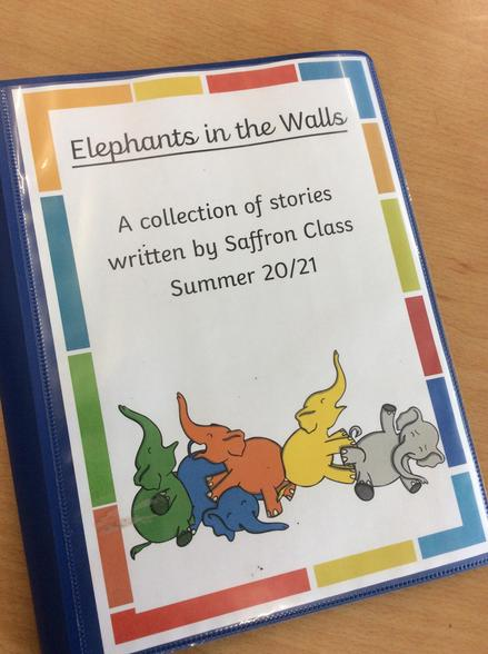 Our writing this week was so fantastic, we've created our own book!