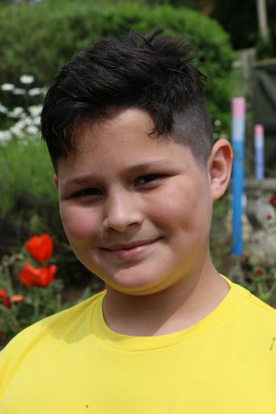 He raised £700 and his hair will be used to make a wig for someone. What a star!