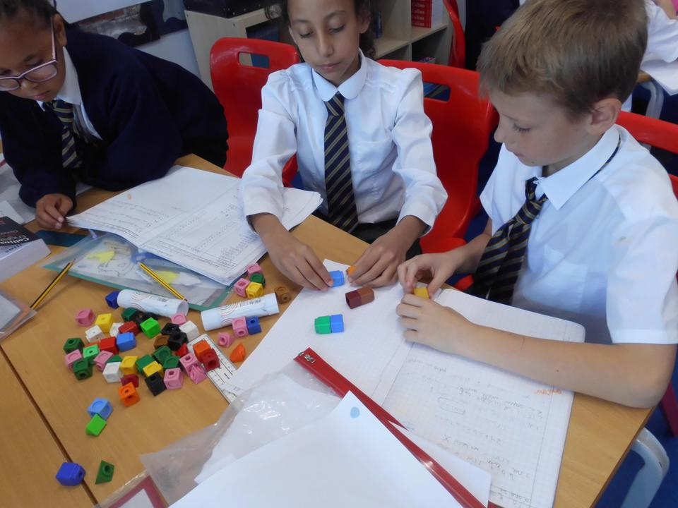 We have been using Number Blocks to develop our understanding of Factors, Factor Pairs, Multiples, Prime Numbers and Composite Numbers.