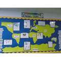 Geography Corridor Display