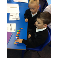 Year 2 choosing how to group to find the total