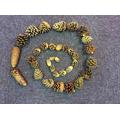 Pine cone spiral