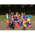 Superheroes ready!