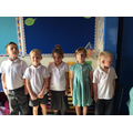 Comparing our heights