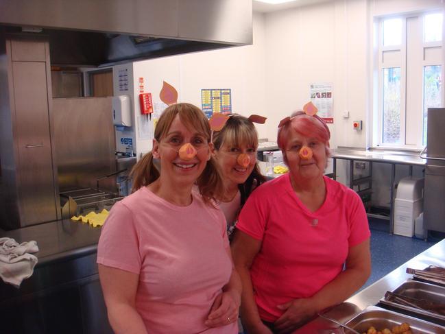 Kitchen Staff (On Big Writing Day)