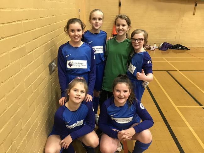 Year 6 Girls Futsal-Tuesday 22nd January 2019
