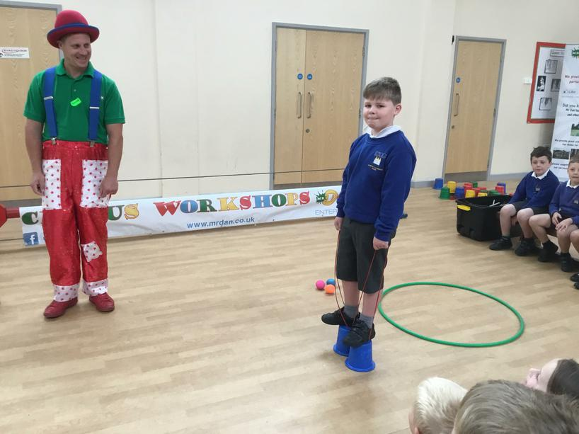 Circus Skills Workshop-Monday 18th June 2018