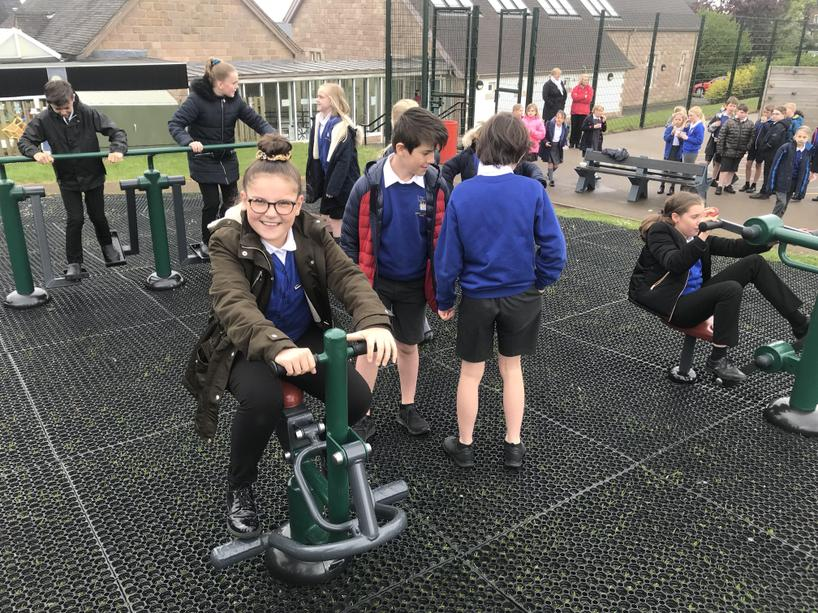 Holbrook CE Primary Exercise Park