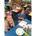 Class 2 take part in Comic Relief themed maths.