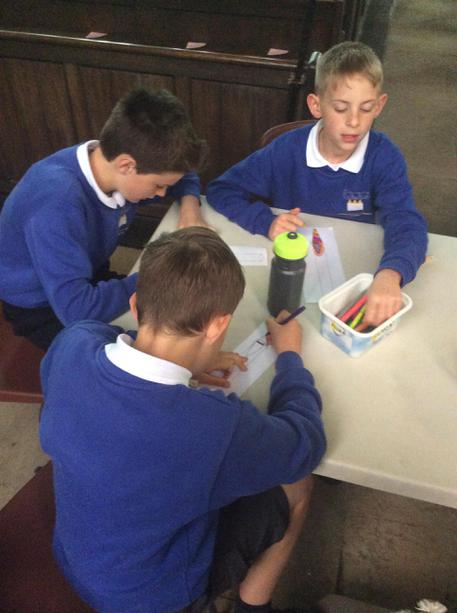 Y6 Visit to St Michael's, Holbrook.