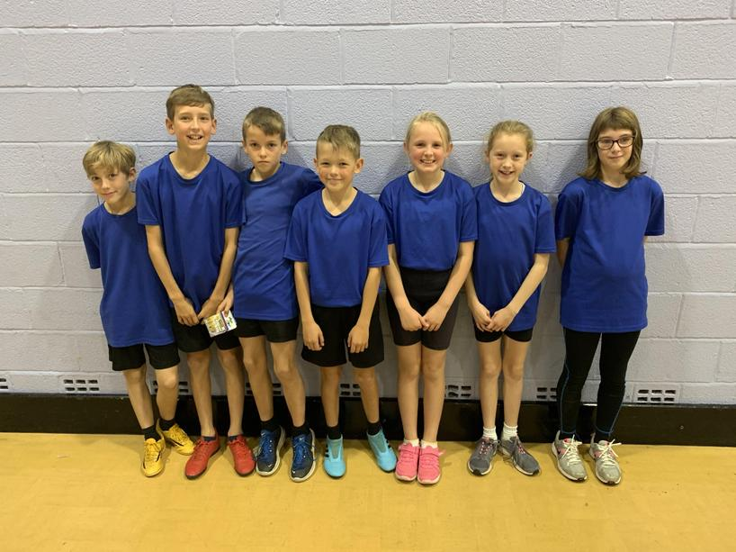 Y5/6 Sports Hall Athletics-Monday 7th October 2019