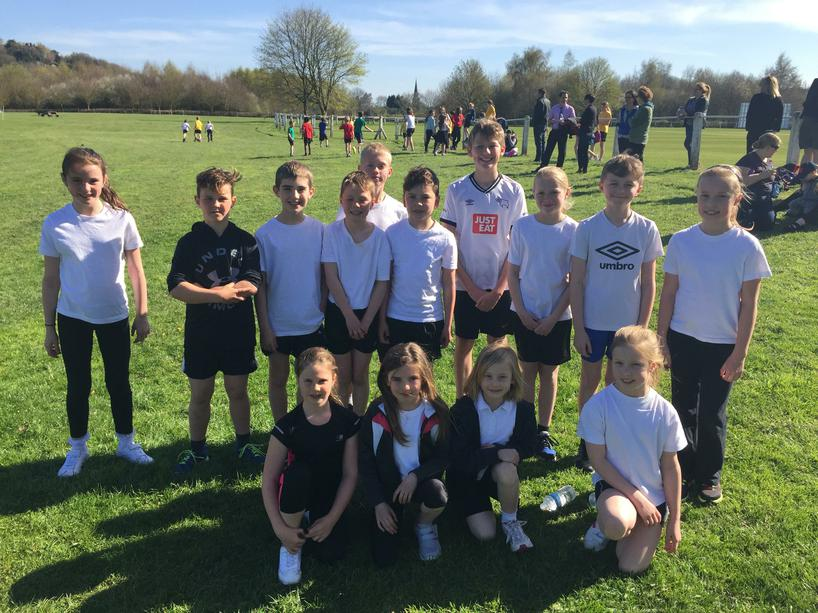 The School X-Country Team