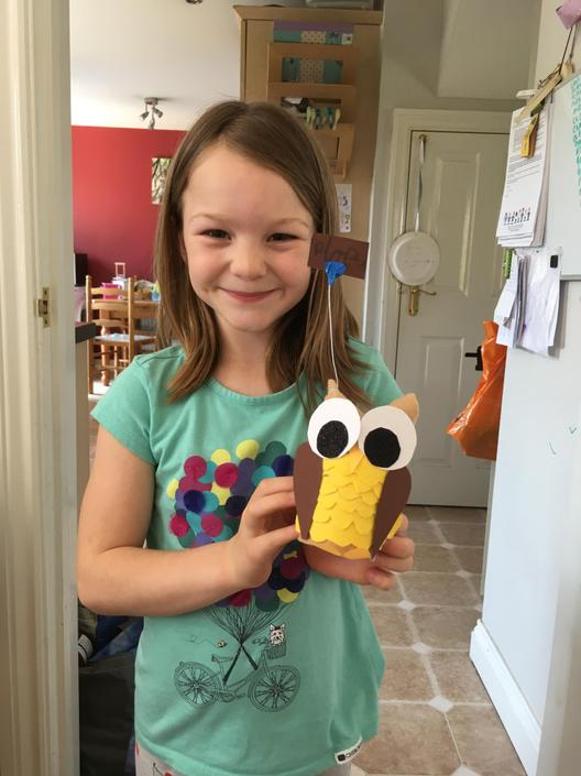 An amazing owl