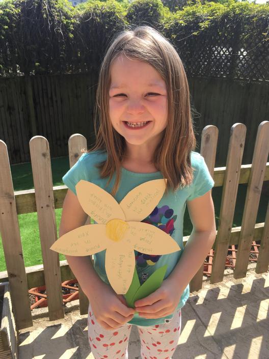 A great gratitude flower- PSHE