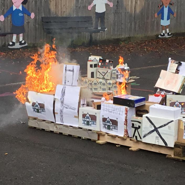 Recreating the Great Fire of London