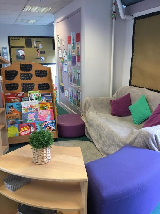 Our lovely book corner