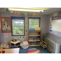 This is our reading area - here we enjoy getting lost in our chosen books!
