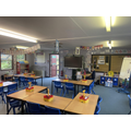 This is our classroom - lot's of learning goes on here!
