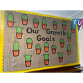 At the beginning of the year we all made growth goals. We will work hard to achieve them!