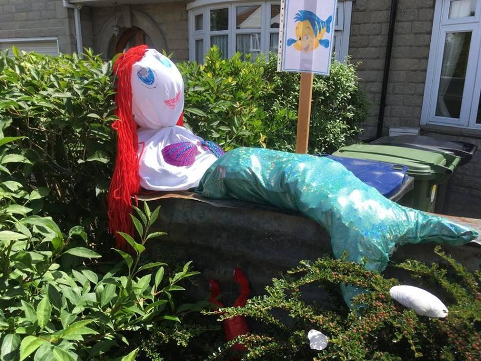 The super Holbrook Scarecros trail