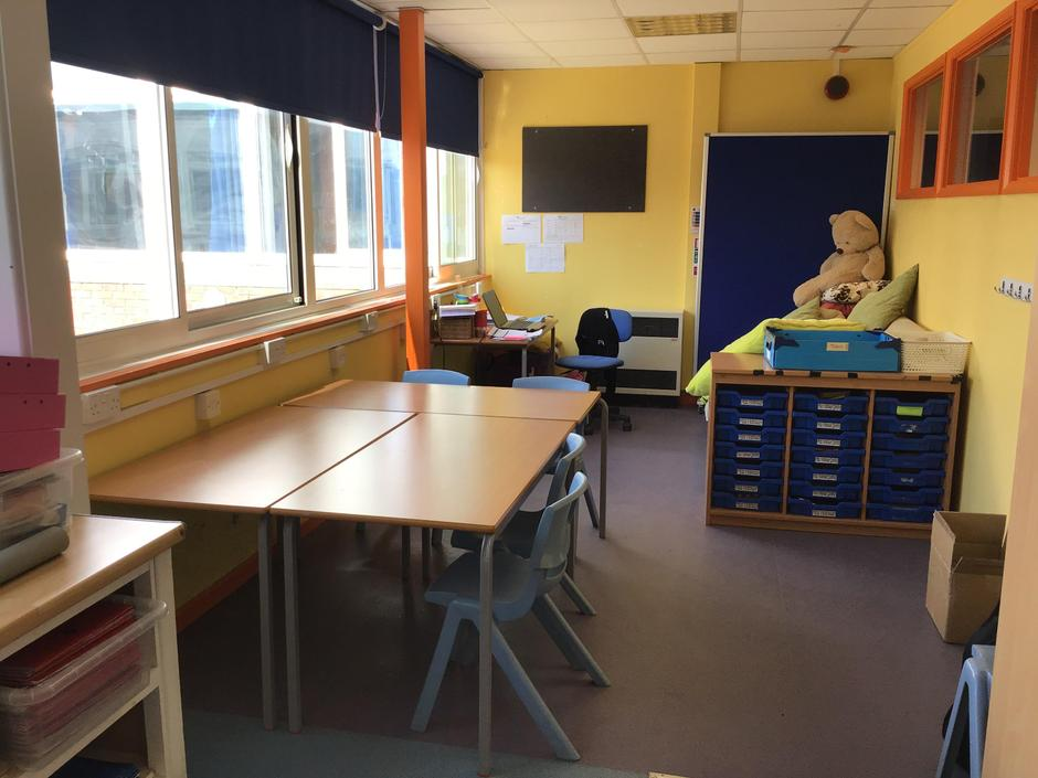 We also have an annex; an extra space for small groups to work in.