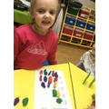 Matching Numerals to quantities