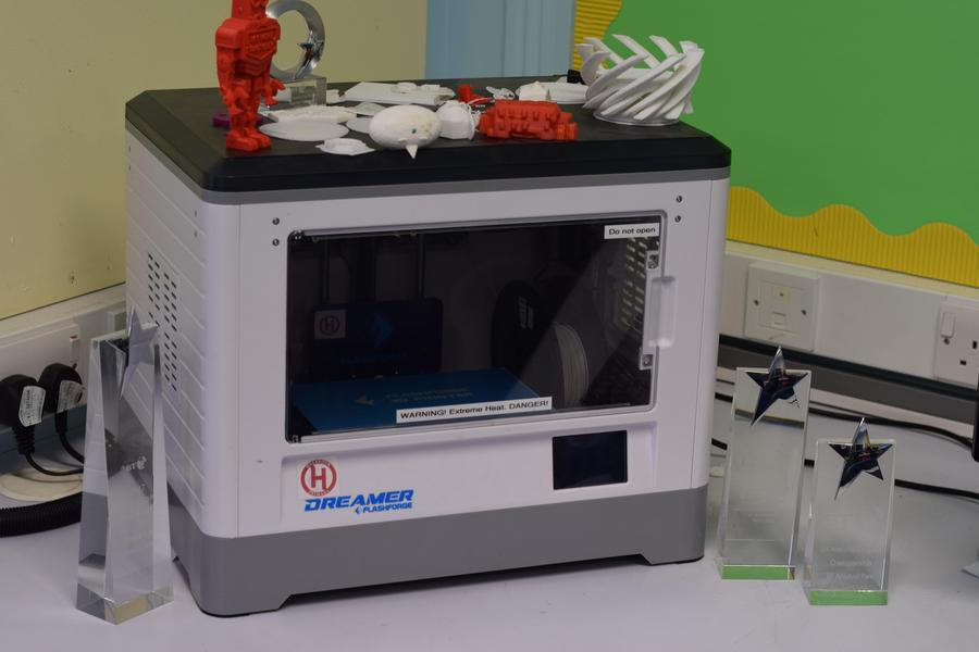 3D printing at Holbrook Primary School