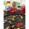 Exploring natural materials and Maths
