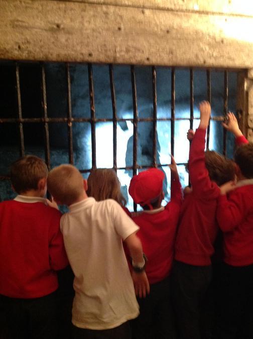 The castle prison.