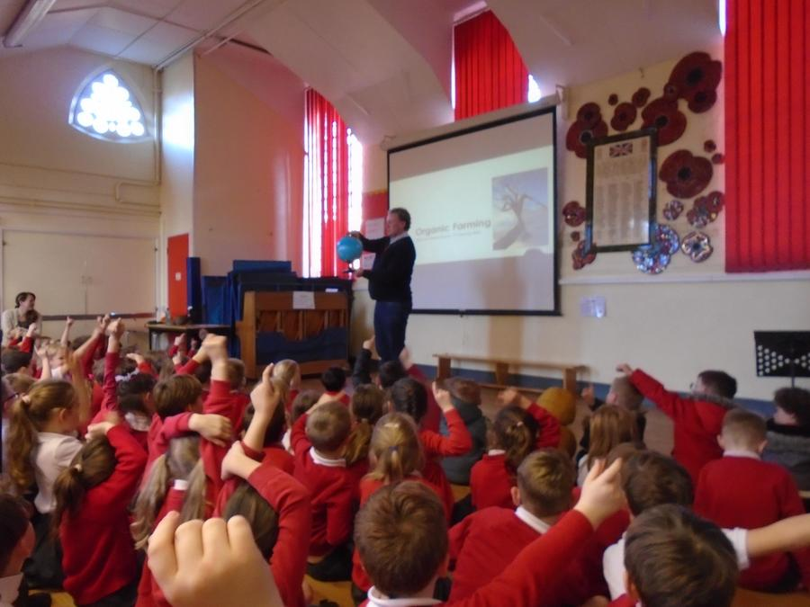 Engaged children keen to answer