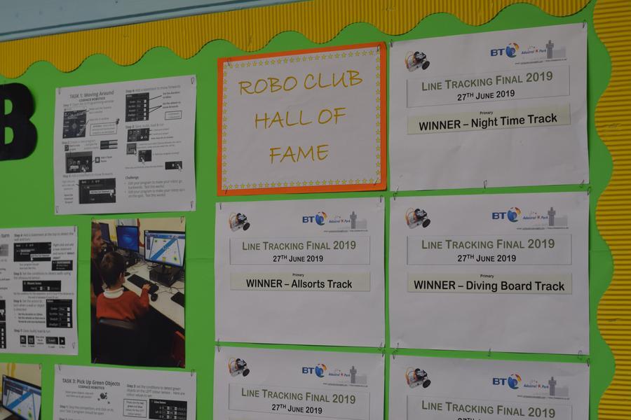 RoboClub's accomplishments