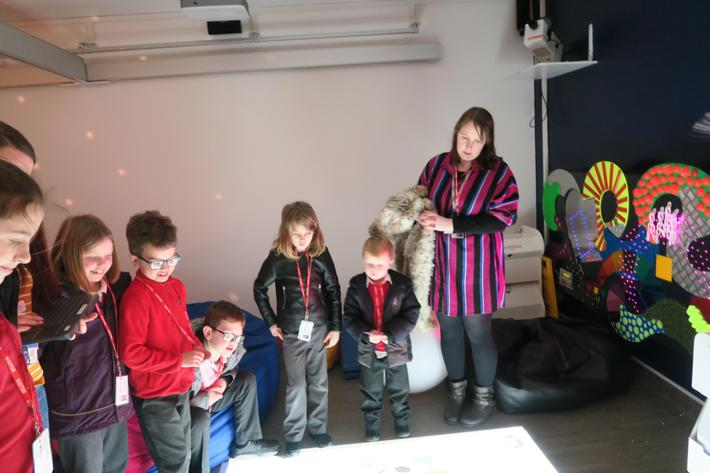 Inside the sensory room with Miss Pink