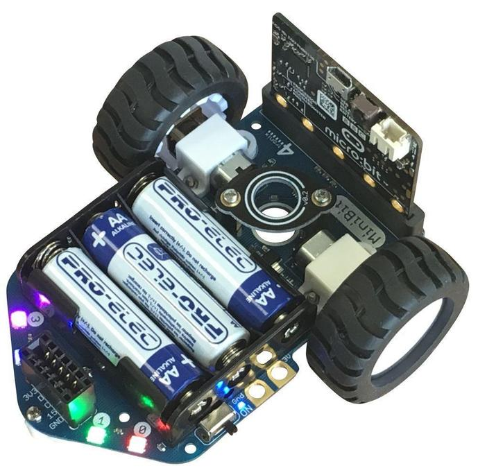 Minibit Robots we are using in Robo Club