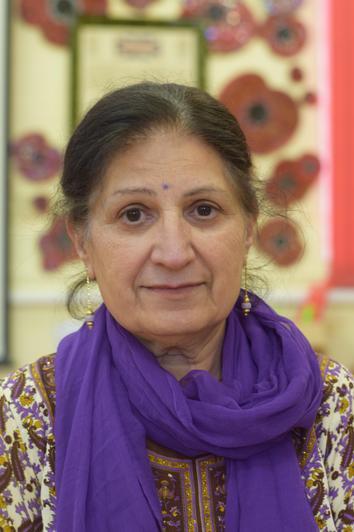 Mrs. B Ubhi - Midday Supervisor