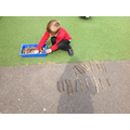 I can build 2-digit numbers.