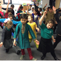 Bollywood dancing in India week