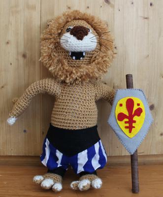 Italy's teddy mascot
