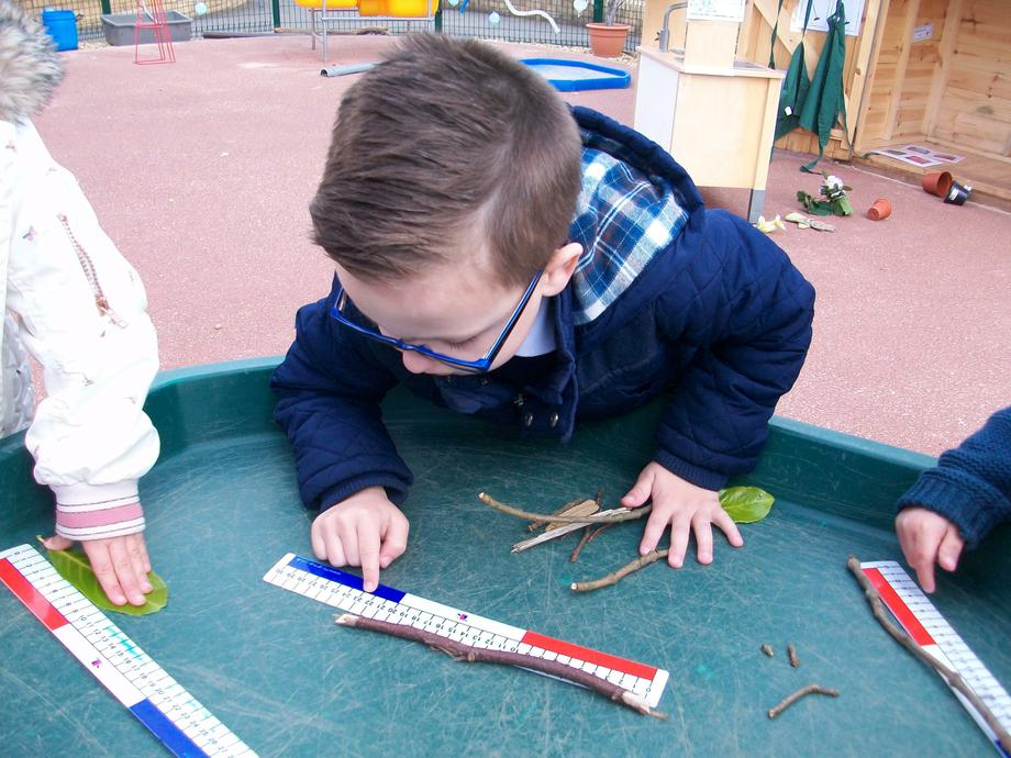 We have also been measuring outside.