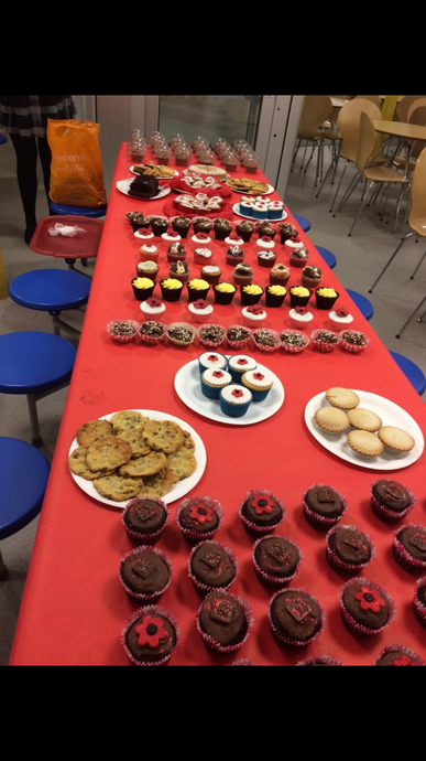 Thank you for the cakes!