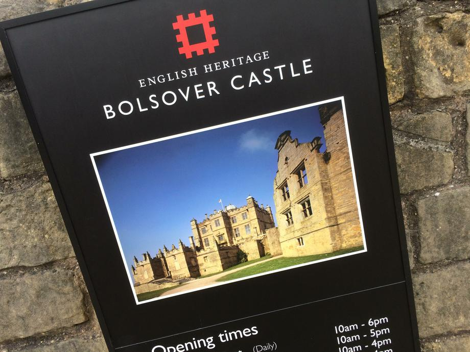 Bolsover Castle: we're going here soon!